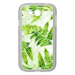 Fern Leaves Samsung Galaxy Grand DUOS I9082 Case (White) Front