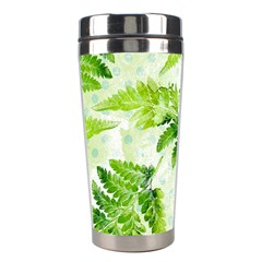 Fern Leaves Stainless Steel Travel Tumblers by DanaeStudio