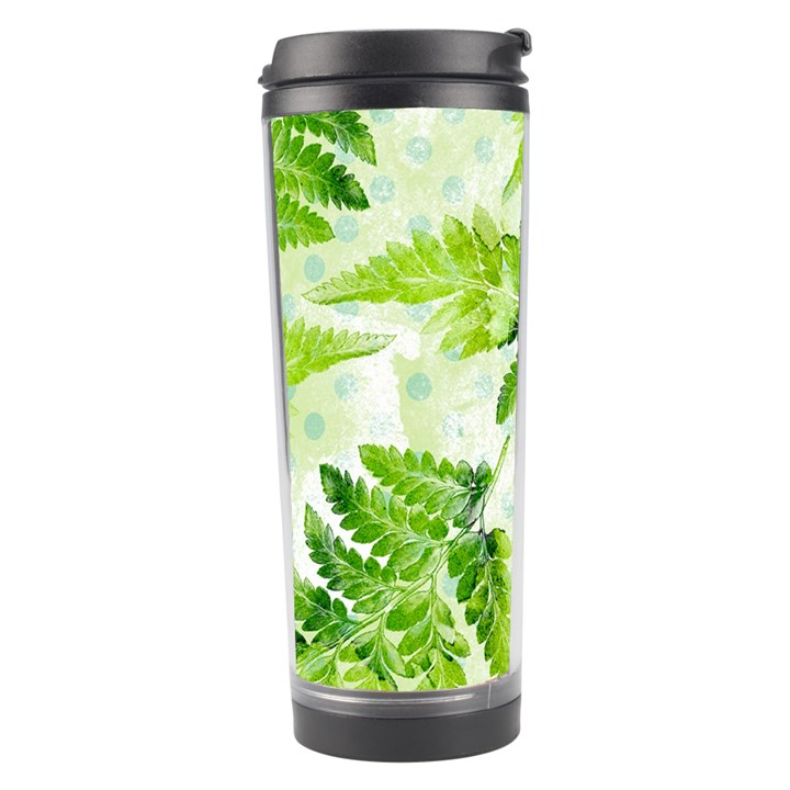 Fern Leaves Travel Tumbler