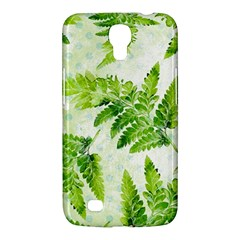 Fern Leaves Samsung Galaxy Mega 6 3  I9200 Hardshell Case by DanaeStudio
