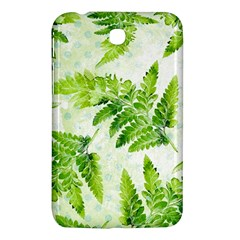 Fern Leaves Samsung Galaxy Tab 3 (7 ) P3200 Hardshell Case  by DanaeStudio