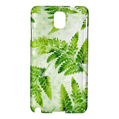 Fern Leaves Samsung Galaxy Note 3 N9005 Hardshell Case