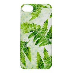 Fern Leaves Apple iPhone 5S/ SE Hardshell Case