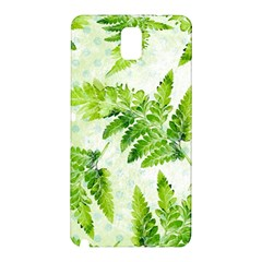 Fern Leaves Samsung Galaxy Note 3 N9005 Hardshell Back Case by DanaeStudio