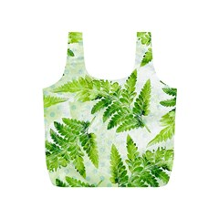 Fern Leaves Full Print Recycle Bags (S)