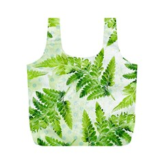 Fern Leaves Full Print Recycle Bags (M)
