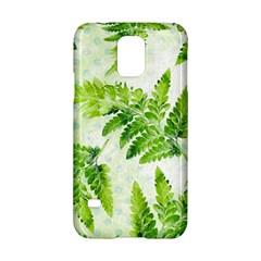 Fern Leaves Samsung Galaxy S5 Hardshell Case  by DanaeStudio