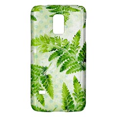 Fern Leaves Galaxy S5 Mini by DanaeStudio