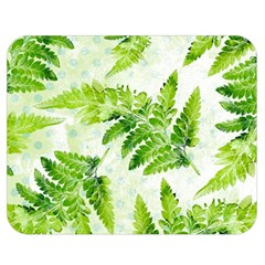 Fern Leaves Double Sided Flano Blanket (Medium)