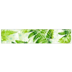 Fern Leaves Flano Scarf (small)  by DanaeStudio