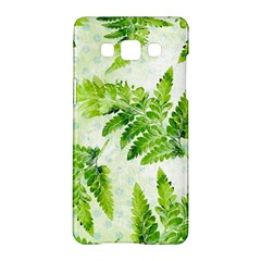 Fern Leaves Samsung Galaxy A5 Hardshell Case  by DanaeStudio