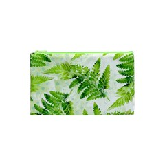 Fern Leaves Cosmetic Bag (XS)