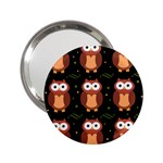 Halloween brown owls  2.25  Handbag Mirrors