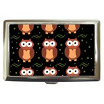 Halloween brown owls  Cigarette Money Cases
