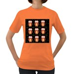 Halloween brown owls  Women s Dark T-Shirt