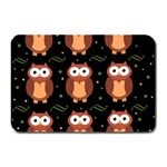 Halloween brown owls  Plate Mats