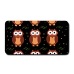 Halloween brown owls  Medium Bar Mats