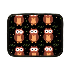 Halloween brown owls  Netbook Case (Small)