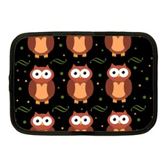 Halloween brown owls  Netbook Case (Medium)