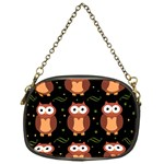 Halloween brown owls  Chain Purses (One Side)  Front