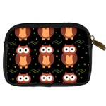 Halloween brown owls  Digital Camera Cases Back