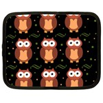 Halloween brown owls  Netbook Case (XL)  Front