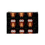 Halloween brown owls  Cosmetic Bag (Medium)