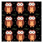 Halloween brown owls  Small Memo Pads 3.75 x3.75  Memopad