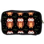 Halloween brown owls  Toiletries Bags