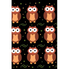 Halloween brown owls  5.5  x 8.5  Notebooks
