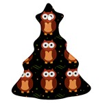 Halloween brown owls  Ornament (Christmas Tree)