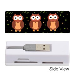 Halloween brown owls  Memory Card Reader (Stick)