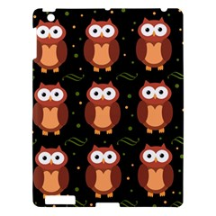 Halloween brown owls  Apple iPad 3/4 Hardshell Case