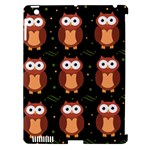 Halloween brown owls  Apple iPad 3/4 Hardshell Case (Compatible with Smart Cover)