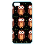 Halloween brown owls  Apple Seamless iPhone 5 Case (Color)