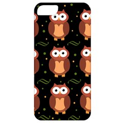 Halloween Brown Owls  Apple Iphone 5 Classic Hardshell Case