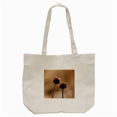 Withered Globe Thistle In Autumn Macro Tote Bag (cream) by wsfcow