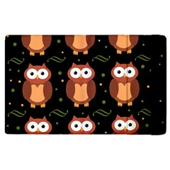 Halloween brown owls  Apple iPad 2 Flip Case