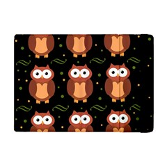 Halloween Brown Owls  Apple Ipad Mini Flip Case by Valentinaart