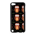 Halloween brown owls  Apple iPod Touch 5 Case (Black)