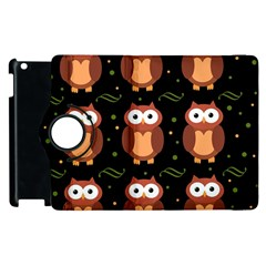 Halloween brown owls  Apple iPad 3/4 Flip 360 Case