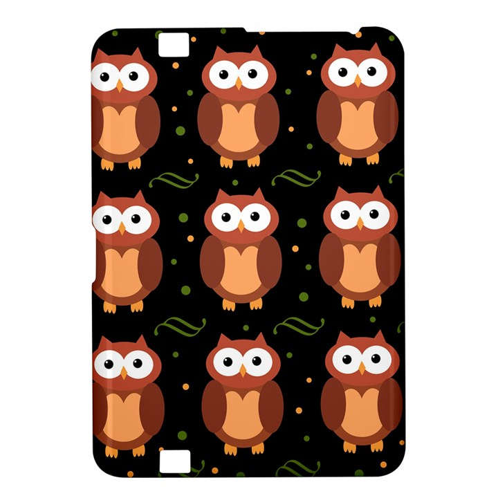 Halloween brown owls  Kindle Fire HD 8.9