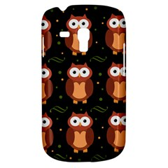 Halloween brown owls  Samsung Galaxy S3 MINI I8190 Hardshell Case