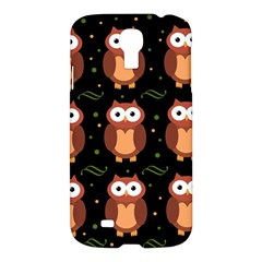 Halloween brown owls  Samsung Galaxy S4 I9500/I9505 Hardshell Case