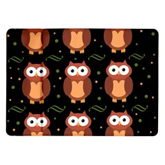 Halloween brown owls  Samsung Galaxy Tab 10.1  P7500 Flip Case