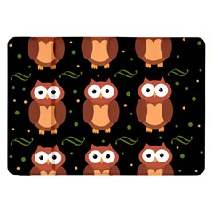 Halloween brown owls  Samsung Galaxy Tab 8.9  P7300 Flip Case