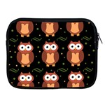 Halloween brown owls  Apple iPad 2/3/4 Zipper Cases