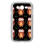 Halloween brown owls  Samsung Galaxy Grand DUOS I9082 Case (White)