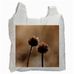 Withered Globe Thistle In Autumn Macro Recycle Bag (One Side) Front