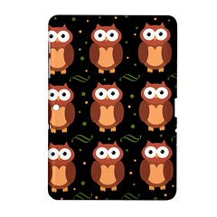 Halloween brown owls  Samsung Galaxy Tab 2 (10.1 ) P5100 Hardshell Case